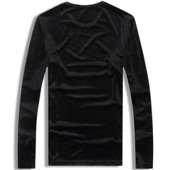 David Velvet Sweatshirt Back