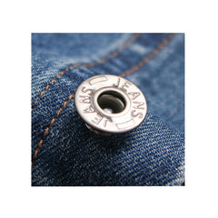 Denim Jacket Hoody Button