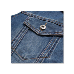 Denim Jacket Hoody Pocket