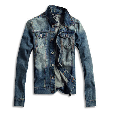 Denim Jacket in Light Blue