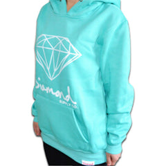 Diamond Supply Co Hoodie Coral Demo