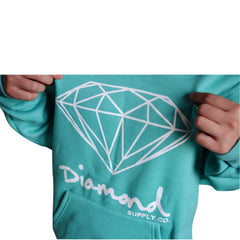 Diamond Supply Co Hoodie Coral