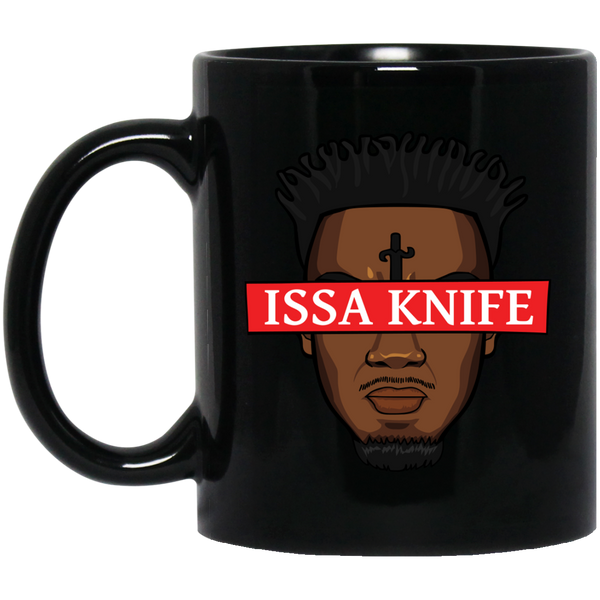 Issa Knife Black Mug