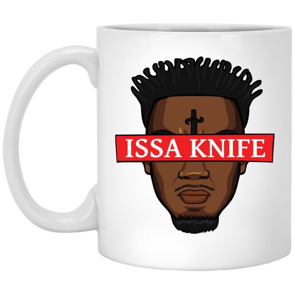 Issa Knife White Mug