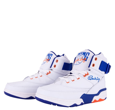 Ewing 33 Hi White Blue Orange