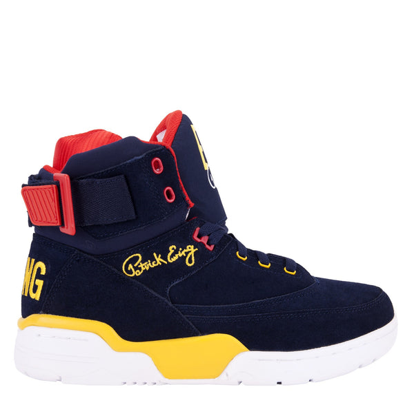 Ewing Hi Navy Yellow Red