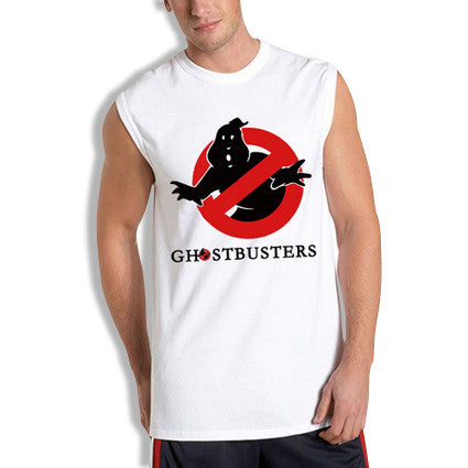 Ghostbusters Sleeveless T-Shirt White