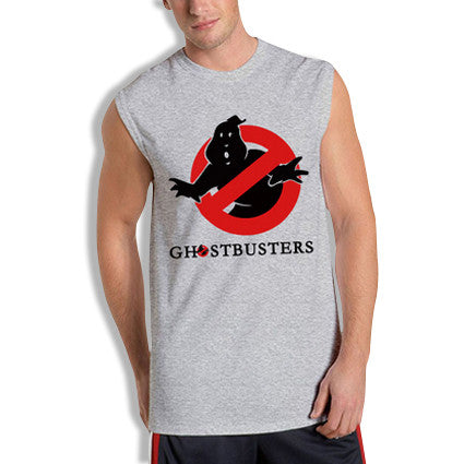 Ghostbusters Sleeveless T-Shirt Grey