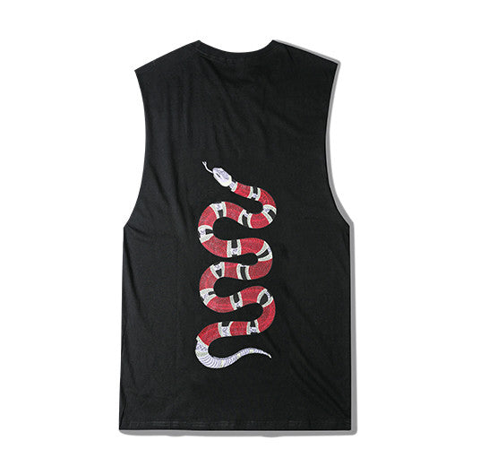 Coral Snake Sleeveless Shirt Back