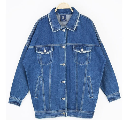 Original Oversized Denim Jacket Light