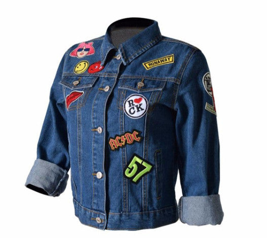 The Nineties Edition Denim Jacket front
