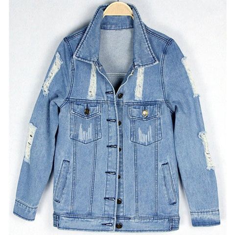 Modern Marilyn Denim Jacket back