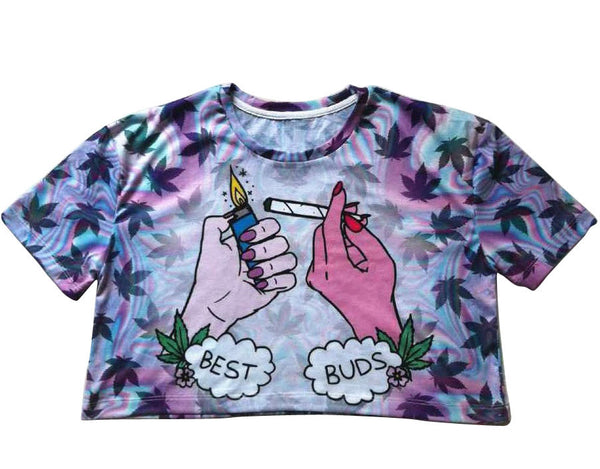 Best Buds Crop Top