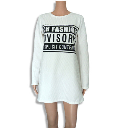 High Fashion Advisory Shirt Black