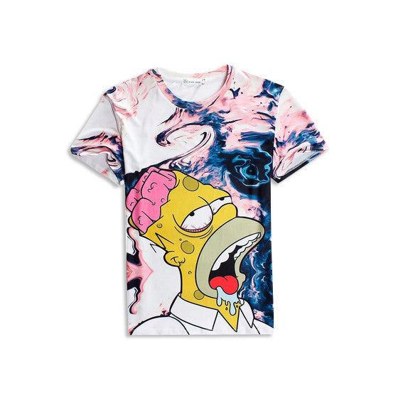 Homer Simpson 'Faded' T-Shirt