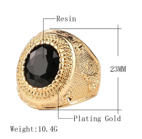 Viper Eye Ring Black