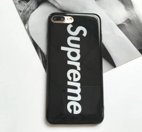 Supreme Classic iPhone Cases In Red