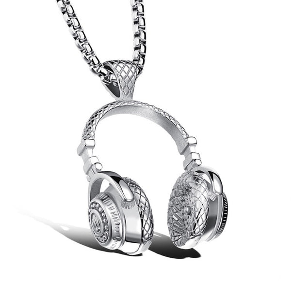 Audio Heat Pendant Necklaces