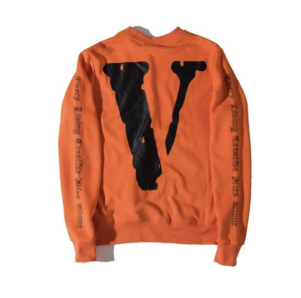 VLONE Classic Orange Sweatshirt