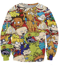 Rugrats Collage Sweatshirt