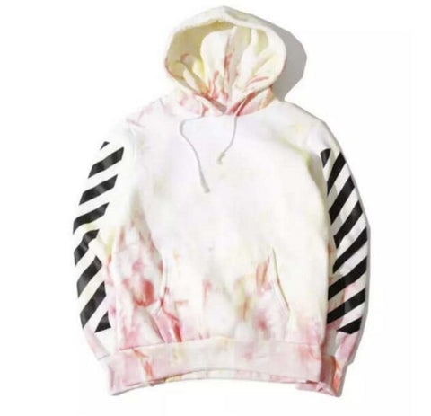 Off White White Accents Hoodie