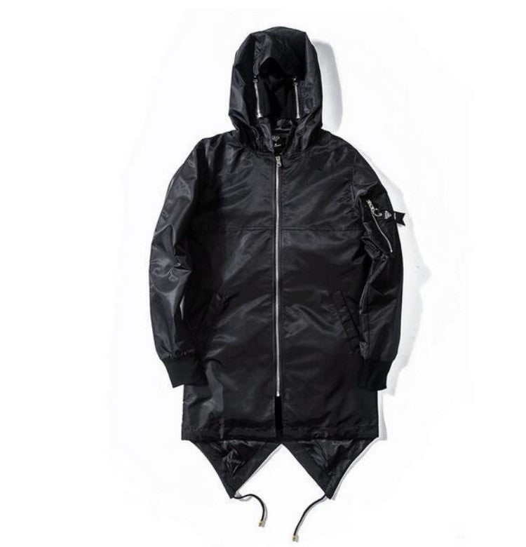 ANDIMOTO Black Prism Jacket With Face Mask