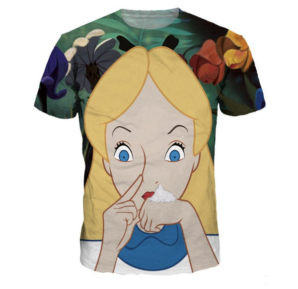Alice Snow White T-Shirt Front