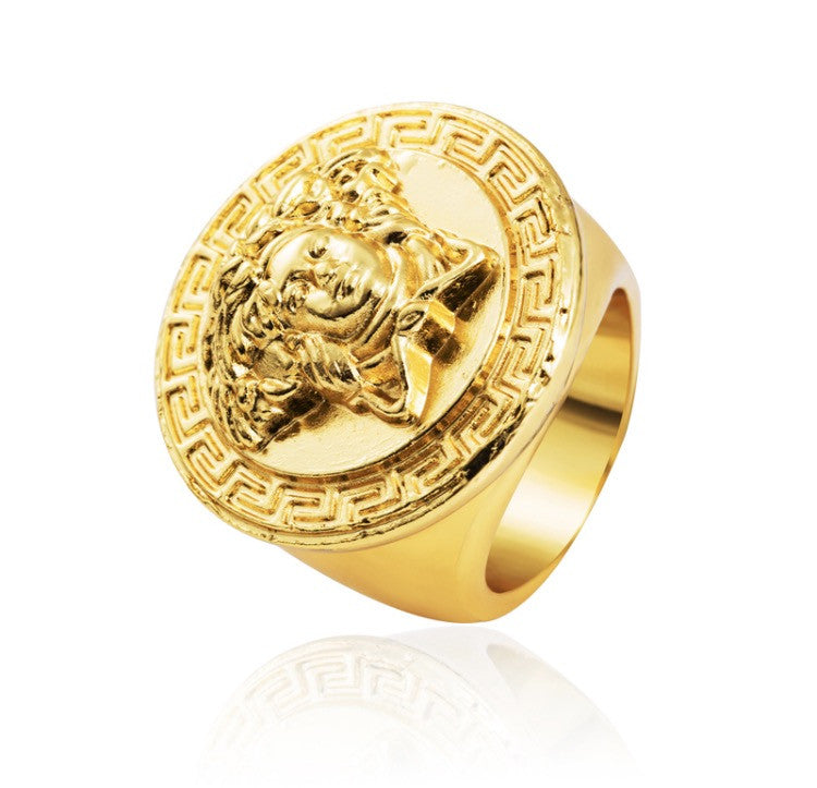 Versace Style Ring