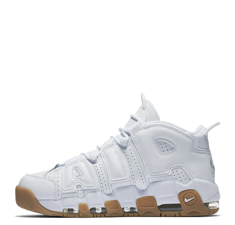 Nike Air More Uptempo - White Bamboo Gum Light Brown