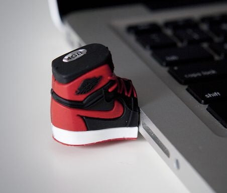 Air Jordan USB Flash Drive AJ 1 Red Black