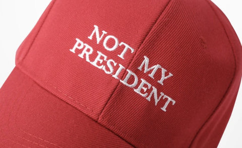 Not My President Dad Hat