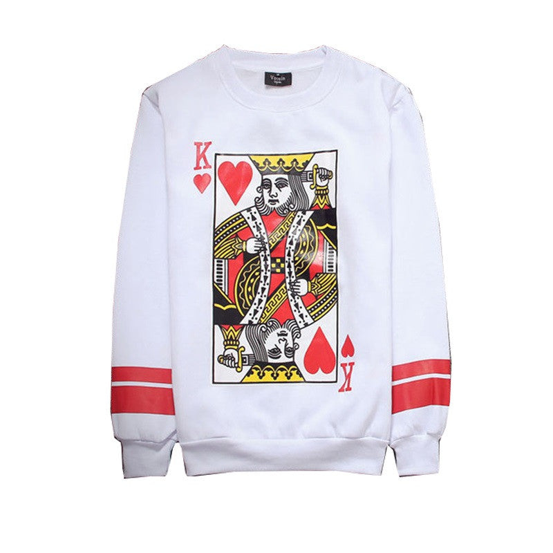 King Of Kings Sweatshirt Onyx Hearts