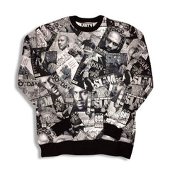 Jordan All Day Sweatshirt Black and White