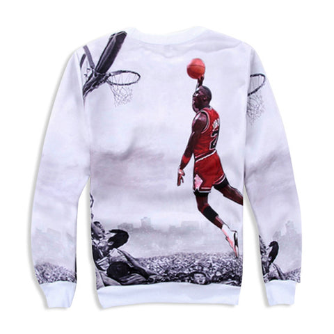 Jordan 'Free Throw Line' Sweatshirt Back