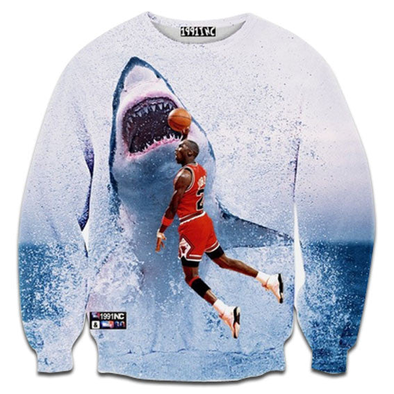 Jordan VS. JAWS Sweatshirt