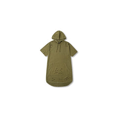 Kanye West Style Sport Hoodie Shirt Army Green