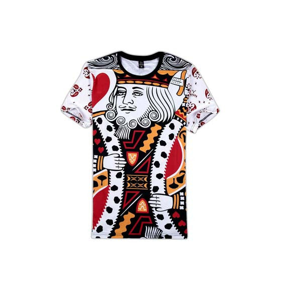 King of Hearts T-Shirt Front