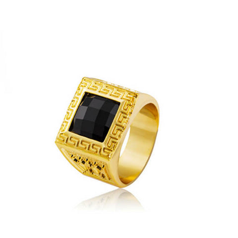 King of Kings 18K Gold Ring