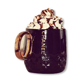Limited Edition CoCo CHANEL Black Gold Mug
