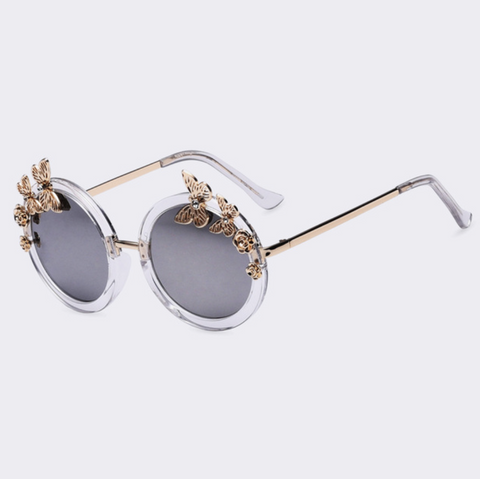 Baddie Butterfly Sunglasses Clear