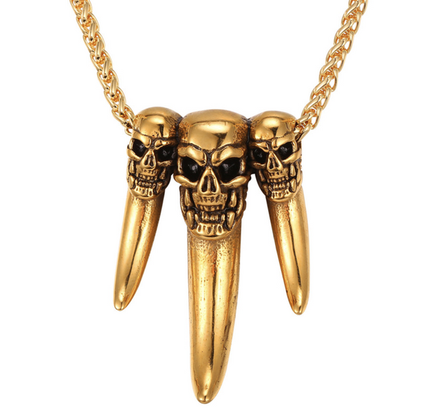 No Witnesses Necklace Gold