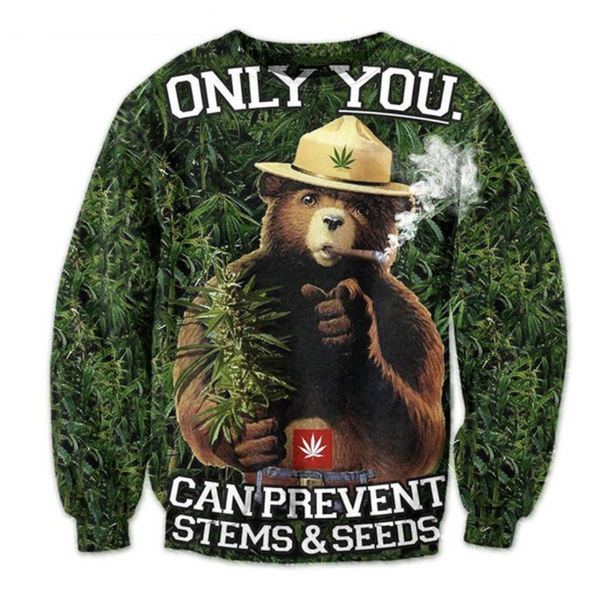 Smokey The Pot Sweatshirt
