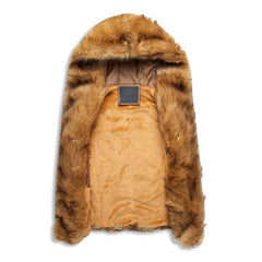 Sleeveless Fur Vest Hoodie Interior