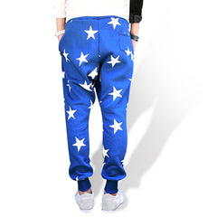 Mens Cotton Star Joggers Rear