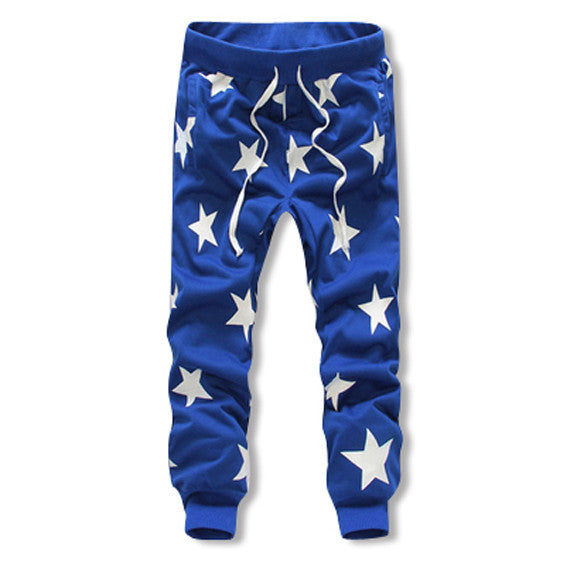 Mens Cotton Star Joggers