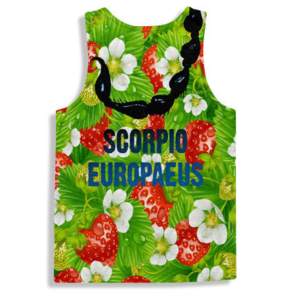 Strawberry Scorpions Streetwear Tanktop
