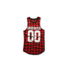 UNDERATED Flannel Tanktop Front