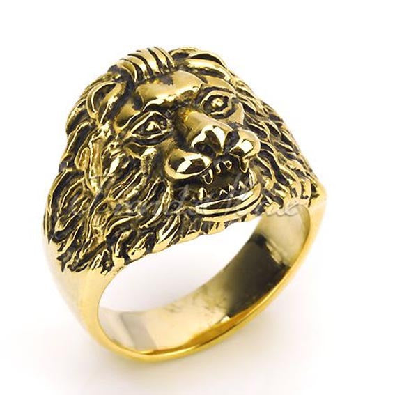 Vintage Lions Ring