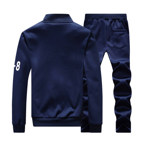 Streetwear Tracksuit Jacket and Pants