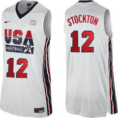 John Stockton Dream Team Home Jersey